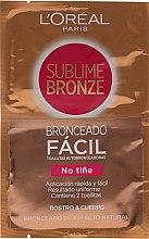 Parfémy, Parfumerie, kosmetika Ubrousky-samoopálení - L'oreal Sublime Self-Tan Face And Body Wipes