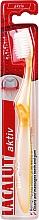 Parfémy, Parfumerie, kosmetika Zubní kartáček měkký, žlutý - Lacalut Aktiv