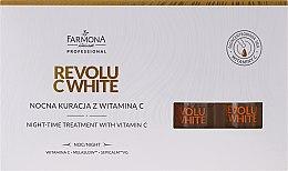 Parfémy, Parfumerie, kosmetika Koncentrát noční s vitamínem C - Farmona Professional Revolu C White