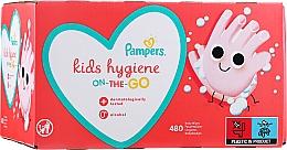Parfémy, Parfumerie, kosmetika Dětské vlhčené ubrousky, 12x40 ks - Pampers Kids On The Go