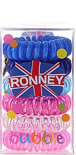 Parfémy, Parfumerie, kosmetika Gumičky na vlasy - Ronney Professional Funny Ring Bubble 4