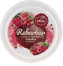 Maska na vlasy s extraktem z rebarbory, ovoce a bambuckého másla - Ovoc Rabarbar Mask — foto N2