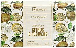 Parfémy, Parfumerie, kosmetika Mýdlo - IDC Institute Refreshing Hand Natural Soap Citrus & Flowers