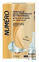 Parfémy, Parfumerie, kosmetika Vyživující lotion na vlasy s máslem karité - Brelil Numero Nourishing Vials For Hair With Shea Butter