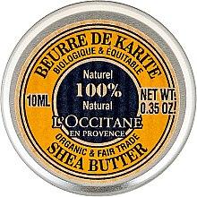 Parfémy, Parfumerie, kosmetika Tělový krém - L'occitane Organic Pure Shea Butter (mini)
