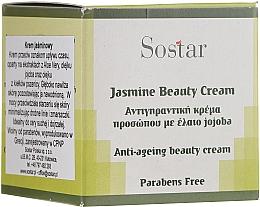 Parfémy, Parfumerie, kosmetika Omlazující krém na obličej s jasmínem - Sostar Jasmine Anti-Aging Beauty Cream