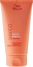 Parfémy, Parfumerie, kosmetika Krém pro nepoddajné vlasy - Wella Professionals Invigo Nutri-Enrich Frizz Control Cream
