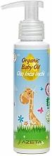 Parfémy, Parfumerie, kosmetika Organický dětský olej se Sacha inchi - Azeta Bio Organic Baby Oil Inca Inchi