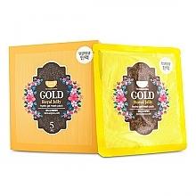 Parfémy, Parfumerie, kosmetika Hydrogelová pleťová maska se zlatem a mateří kašičkou - Petitfee & Koelf Gold & Royal Jelly Hydro Gel Mask