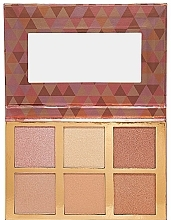 Parfémy, Parfumerie, kosmetika Paletka - Bellapierre Glowing Palette