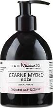 Parfémy, Parfumerie, kosmetika Černé tekuté mýdlo s růžovým olejem - Beaute Marrakech Rose Black Liquid Soap