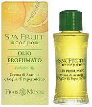 Parfémy, Parfumerie, kosmetika Frais Monde Spa Fruit Orange And Chilli Leaves Perfumed Oil - Parfémový olej