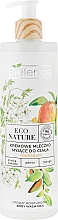 Parfémy, Parfumerie, kosmetika Krémové sprchové mléko - Bielenda Eco Nature Creamy Body Wash Milk Kakadu Plum, Jasmine & Mango