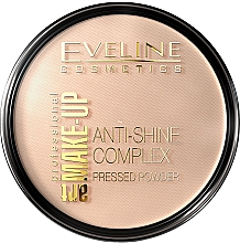 Parfémy, Parfumerie, kosmetika Kompaktní pudr - Eveline Cosmetics Anti-Shine Complex