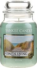 Svíčka ve skleněné nádobě - Yankee Candle Coastal Living — foto N3
