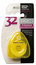 Parfémy, Parfumerie, kosmetika Dentální nit 32 Pearls PRO žlutá - Modum 32 Perly Dental Floss