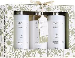 Parfémy, Parfumerie, kosmetika Sada - Baylis & Harding Urban Barn Lime Basil & Mint Set (b/cr/300ml + sh/gel/300ml + sh/cr/300ml)