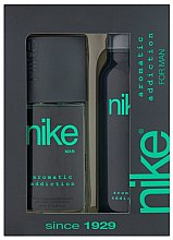 Parfémy, Parfumerie, kosmetika Nike Men Aromatic Addiction - Sada (deo/200ml + deo/spray/75ml)
