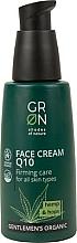 Parfémy, Parfumerie, kosmetika Pleťový krém   - GRN Gentlemen's Organic Q10 Hemp & Hop Face Cream