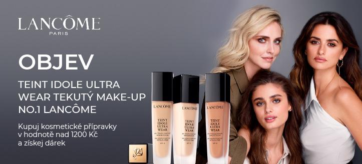 Kupuj kosmetické přípravky Lancôme v hodnotě nad 1200 Kč a získej dárek