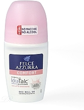 Parfémy, Parfumerie, kosmetika Kuličkový deodorant - Felce Azzurra Deo Roll-on IdraTalc Comfort