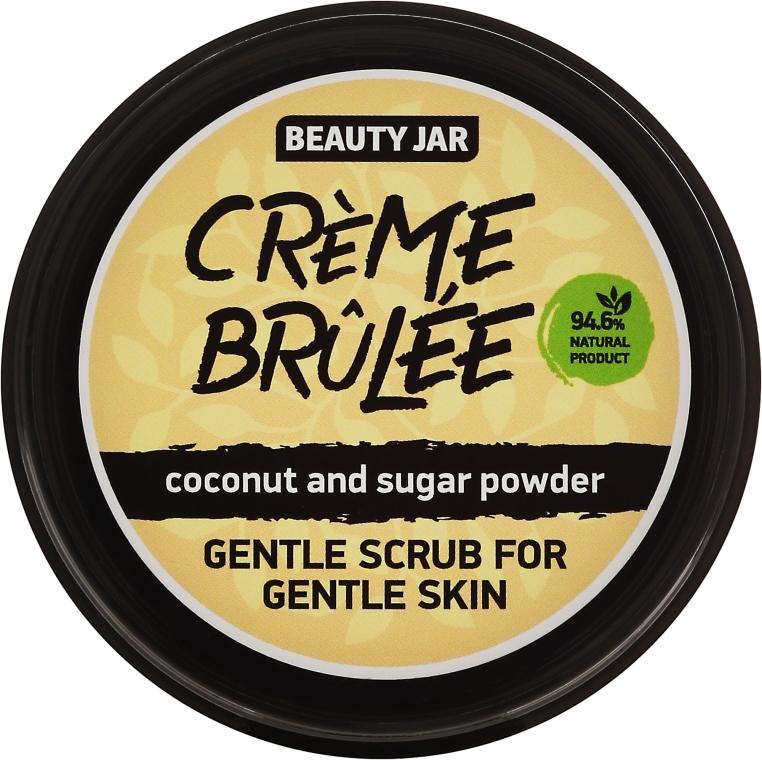 "Peeling na obličej ""Creme brulee"" - Beauty Jar Gentle Scrub For Gentle Skin"