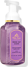 Parfémy, Parfumerie, kosmetika Pěnivé mýdlo na ruce Fresh Cut Lilacs - Bath and Body Works White Barn Fresh Cut Lilacs Gentle Foaming Hand Soap