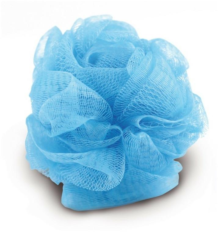 Sprchová houba 9549, modrá - Donegal Wash Sponge — foto N1