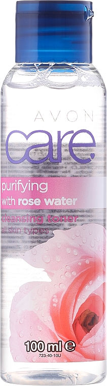 Čistící růžová voda - Avon Care Purifying Cleansing Toner — foto N1