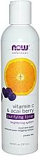 Parfémy, Parfumerie, kosmetika Čisticí tonikum s vitamínem C - Now Foods Vitamin C & Acai Berry Purifying Toner