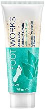 Parfémy, Parfumerie, kosmetika Mátový peeling na nohy - Avon Footworks
