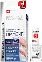 Parfémy, Parfumerie, kosmetika Diamantový regenerační komplex pro nehty - Eveline Cosmetics Nail Therapy Professional