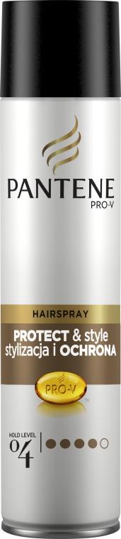 Lak na vlasy s extra silnou fixací - Pantene Pro-V Style & Schutz Hair Spray — foto N1