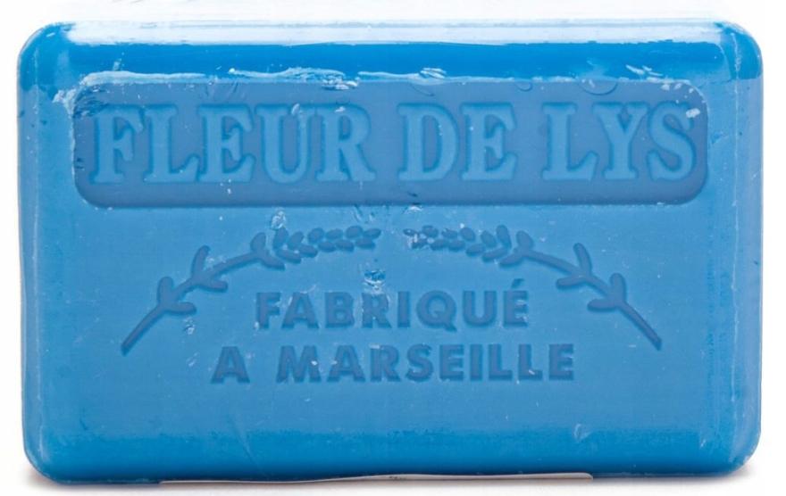 Marseille mýdlo Lilie - Foufour Savonnette Marseillaise Fleur de Lys