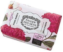 Parfémy, Parfumerie, kosmetika Mýdlo - Panier Des Sens Extra Gentle Natural Soap with Shea Butter Magnolia Peony