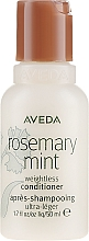 Parfémy, Parfumerie, kosmetika Kondicionér s rozmarýnem a mátou - Aveda Rosemary Mint Weightless Conditioner