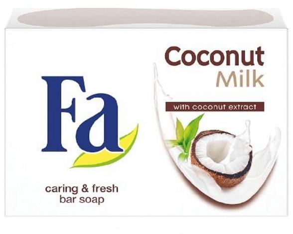 "Krém-mýdlo ""Kokosové mléko"" - Fa Coconut Milk — foto N1"