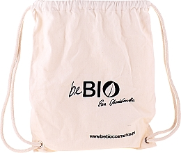 Parfémy, Parfumerie, kosmetika Sada v ekologickém batohu - BeBio Chia And Japanese Cherry Flower Set (sh/gel/400ml + b/lot/200ml + deo/roll-on/50ml + h/cr/75ml)