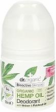 "Parfémy, Parfumerie, kosmetika Deodorant ""Konopný olej"" - Dr. Organic Bioactive Skincare Hemp Oil Deodorant"