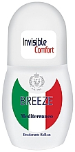 Parfémy, Parfumerie, kosmetika Kuličkový deodorant Neviditelný komfort  - Breeze Invisible Comfort Deodorante Roll-on