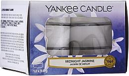 Parfémy, Parfumerie, kosmetika Čajové svíčky Půlnoční jasmín - Yankee Candle Scented Tea Light Candles Midnight Jasmine