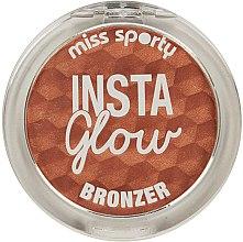 Parfémy, Parfumerie, kosmetika Bronzující pudr - Miss Sporty Insta Glow Bronzer