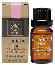 Parfémy, Parfumerie, kosmetika Éterický olej Růže - Apivita Aromatherapy Organic Rose Oil