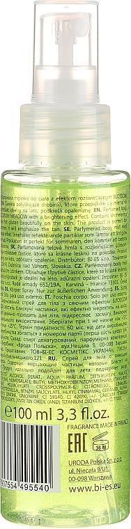 Bi-Es Blossom Meadow Sparkling Body Mist - Tělový sprej — foto N3