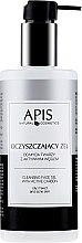 Parfémy, Parfumerie, kosmetika Čistící gel s aktivním uhlím - APIS Professional Cleansing Gel