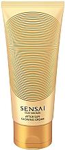 Parfémy, Parfumerie, kosmetika Třpytivý tělový krém - Kanebo Sensai Silky Bronze After Sun Glowing Cream