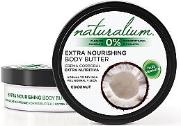 Parfémy, Parfumerie, kosmetika Tělový olej - Naturalium Coconut Extra Nourishing Body Butter
