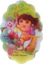 Parfémy, Parfumerie, kosmetika Dětská koupelová houba Dora průzkumnice, 169-6 - Suavipiel Dora Bath Sponge