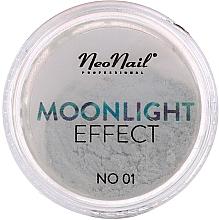 Parfémy, Parfumerie, kosmetika Třpytky na zdobení nehtů Efekt měsíčního svitu - NeoNail Professional Moonlight Effect