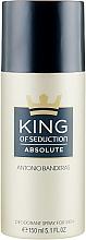 Parfémy, Parfumerie, kosmetika Antonio Banderas King of Seduction Absolute - Deodorant ve spreji